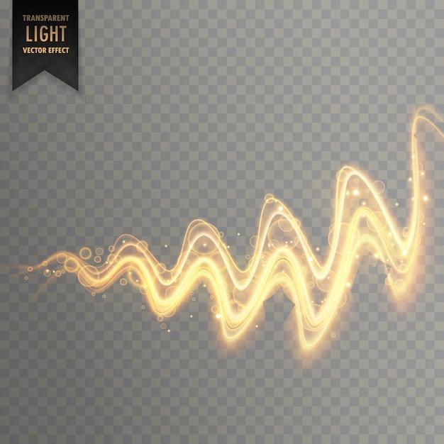 Fond d'effet de lumière twirl abstrait Vecteur gratuit