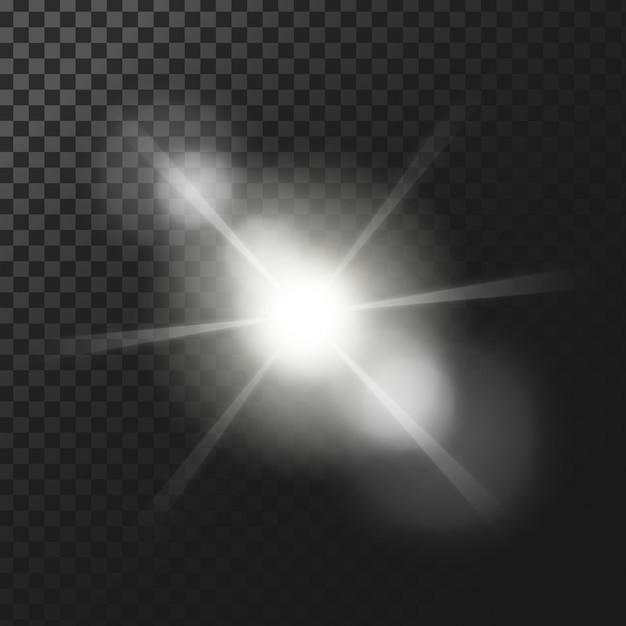 Fond D'effets De Lumière Vecteur gratuit