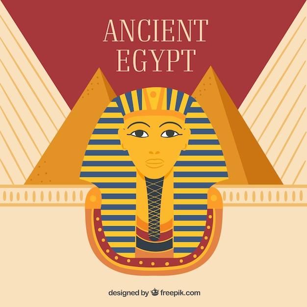 Fond de l'egypte ancienne Vecteur gratuit