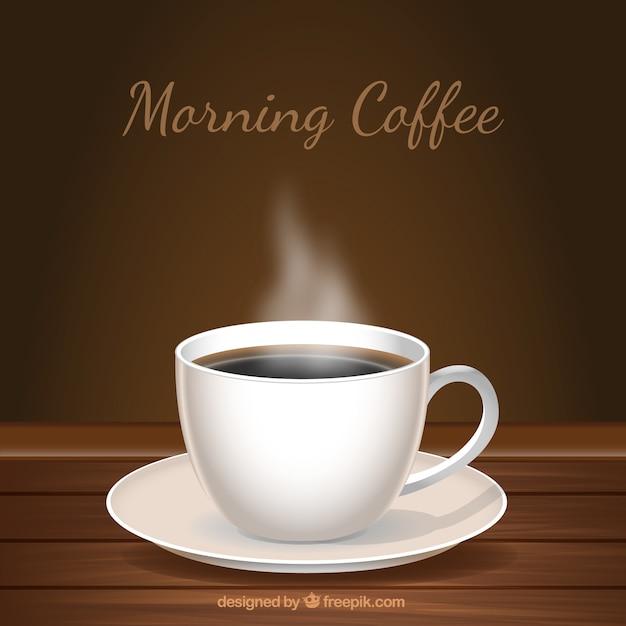 Fond en bois avec une tasse de caf t l charger des - Tasse a cafe avec support ...