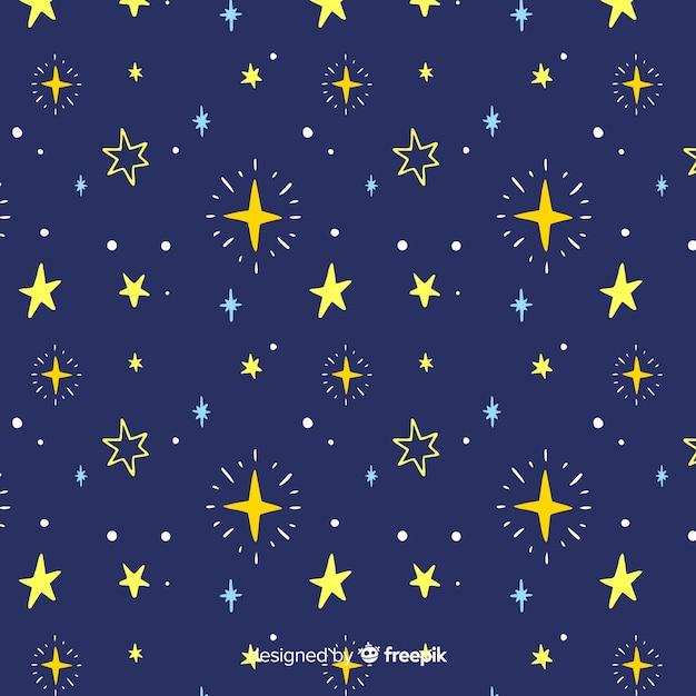 Fond d'étoile Vecteur gratuit