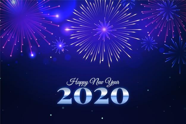 Calendrier Feu D Artifice 2020.Fond De Feux D Artifice Nouvel An 2020 Telecharger Des