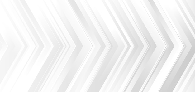 Fond De Flèches Blanches Et Grises. Vecteur Premium