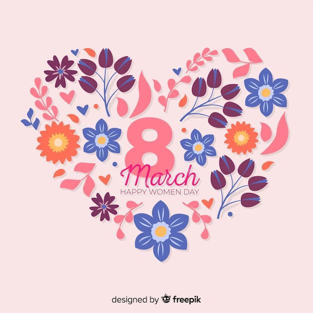 Fond Floral De La Journée Des Femmes Télécharger Des