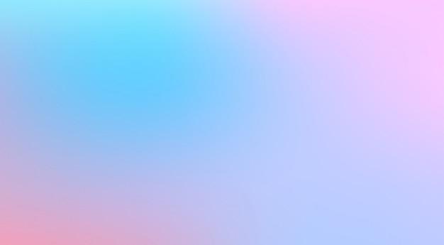 Fond Flou De Maille Pastel. Motif Dégradé Multicolore. Style Aquarelle Moderne Lisse. Vecteur Premium