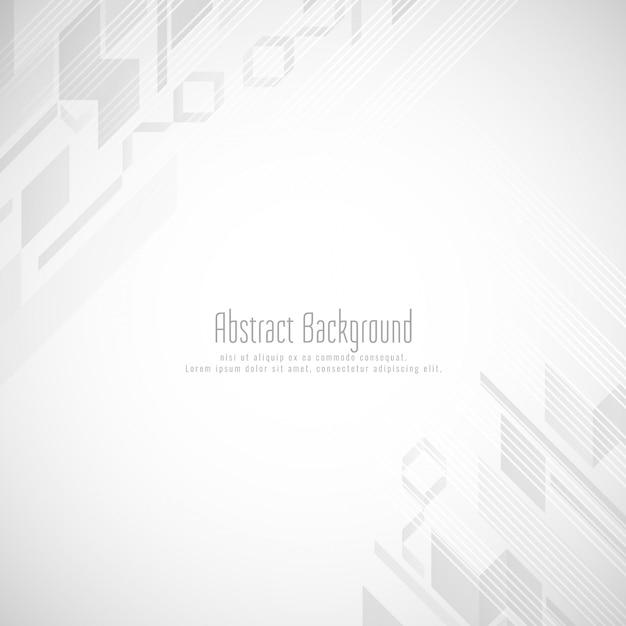 Fond de forme géométrique de couleur grise abstraite Vecteur gratuit
