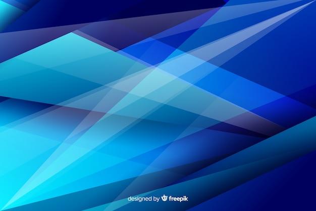 Fond de formes abstraites triangle géométrique Vecteur gratuit