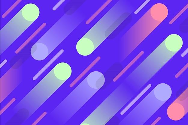 Fond De Formes Géométriques Abstraites Vecteur gratuit