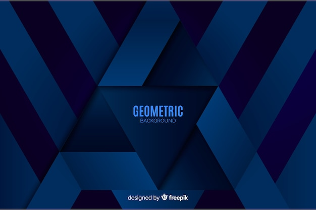 Fond de formes géométriques dégradées Vecteur gratuit