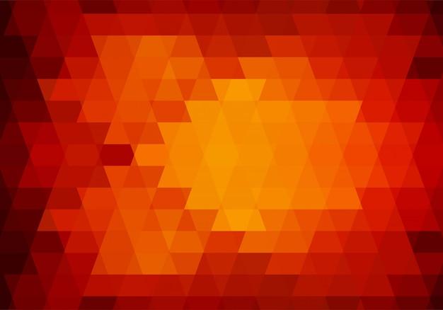 Fond De Formes De Triangle Coloré Abstrait Vecteur gratuit
