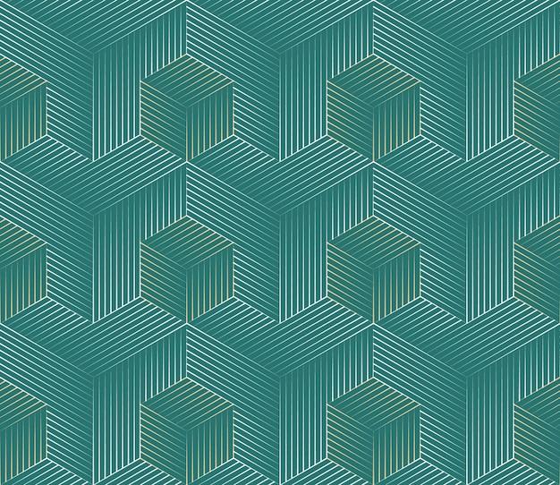 Fond géométrique abstrait sans soudure Vecteur gratuit
