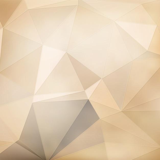 Fond Géométrique Beige Vecteur gratuit