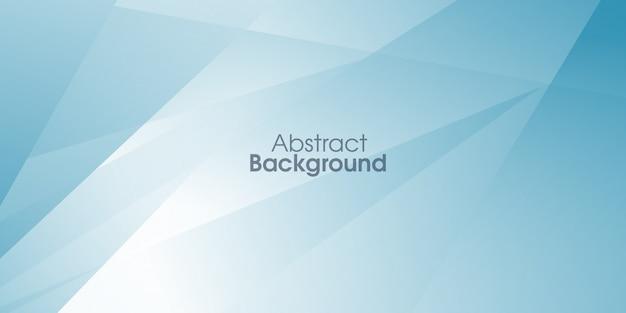 Fond géométrique bleu Vecteur Premium