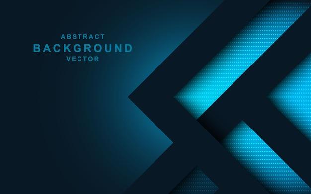 Fond géométrique design abstrait moderne Vecteur Premium