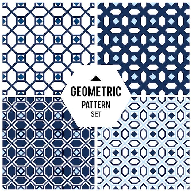 Fond géométrique avec losange et nœuds. motif géométrique abstrait Vecteur gratuit