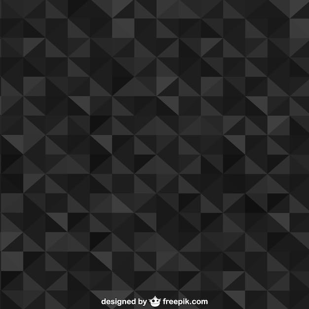 Fond Géométrique Niveaux De Gris Vecteur gratuit