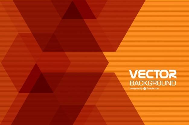 Fond géométrique rétro Vecteur gratuit