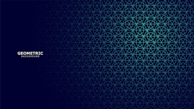 Fond géométrique Vecteur Premium