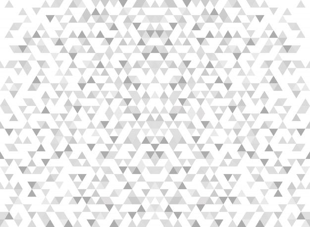 Fond gris dégradé abstrait triangle moderne. Vecteur Premium