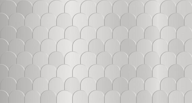 Fond gris texture des vagues abstraites. Vecteur Premium