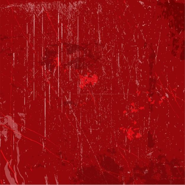 Fond Grunge Rouge Avec Des éclaboussures Et Des Taches Vecteur gratuit