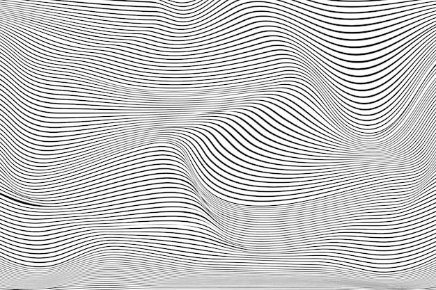 Fond D'illusion D'optique Psychédélique Vecteur gratuit