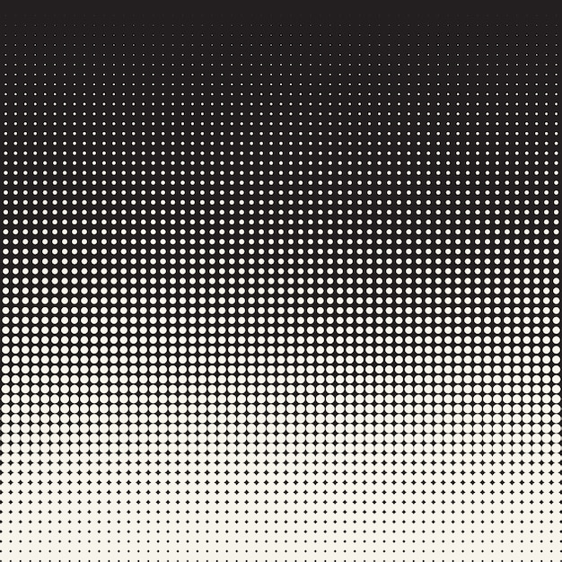 Fond D'illustration Pop Demi-teinte Vecteur Premium