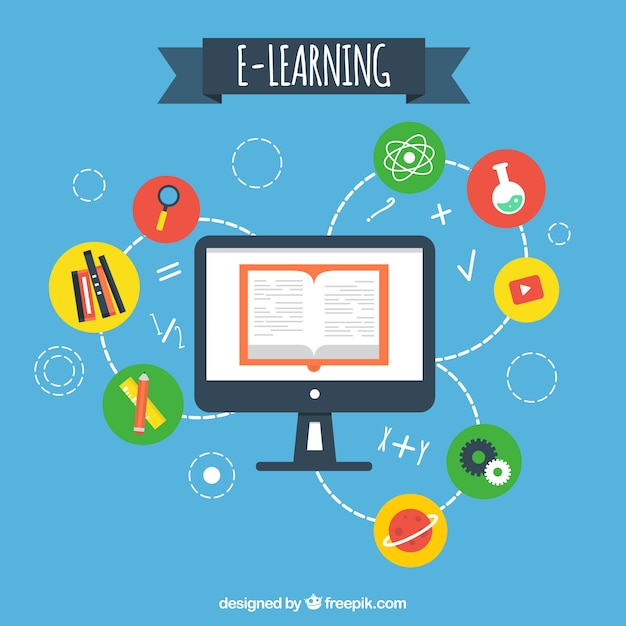 Science Design For Notebook: Fond Informatique Articles D'apprentissage