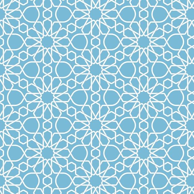 Fond islamique géométrique abstrait Vecteur gratuit