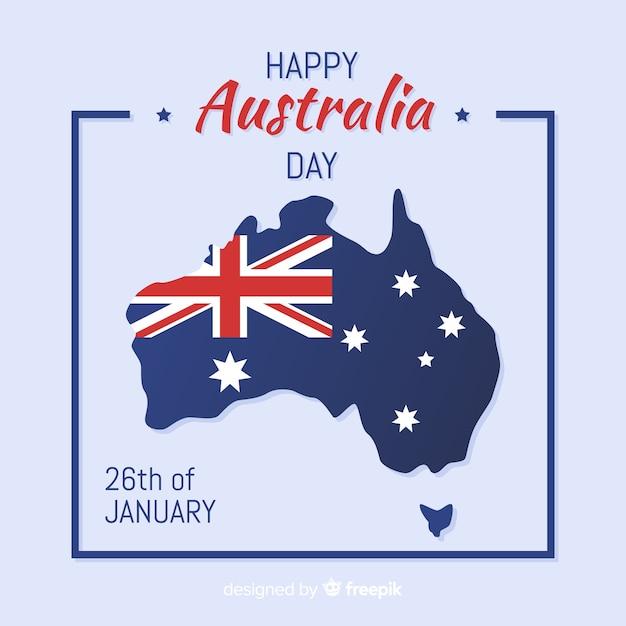 Fond de jour australie Vecteur gratuit