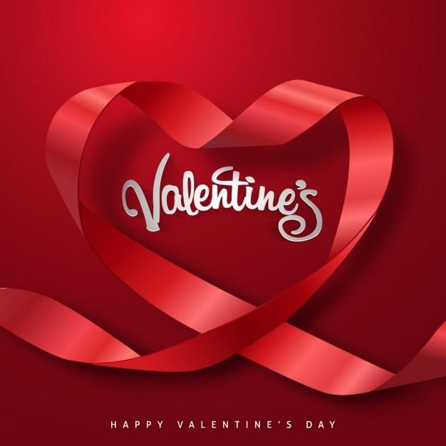 fond la conception de la Saint-Valentin Vecteur gratuit