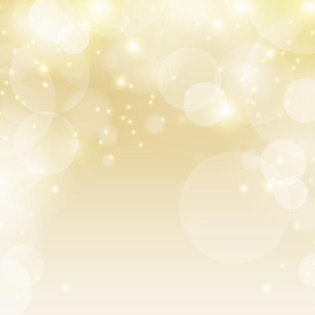 Fond De Lumières De Noël. Vecteur gratuit