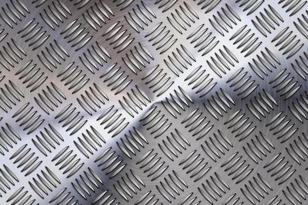 Fond métallique en acier Vecteur Premium