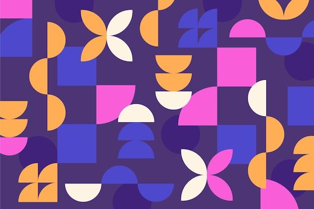 Fond Moderne De Formes Géométriques Abstraites Vecteur gratuit