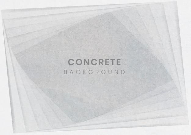 Fond moderne géométrique gris 3d Vecteur gratuit