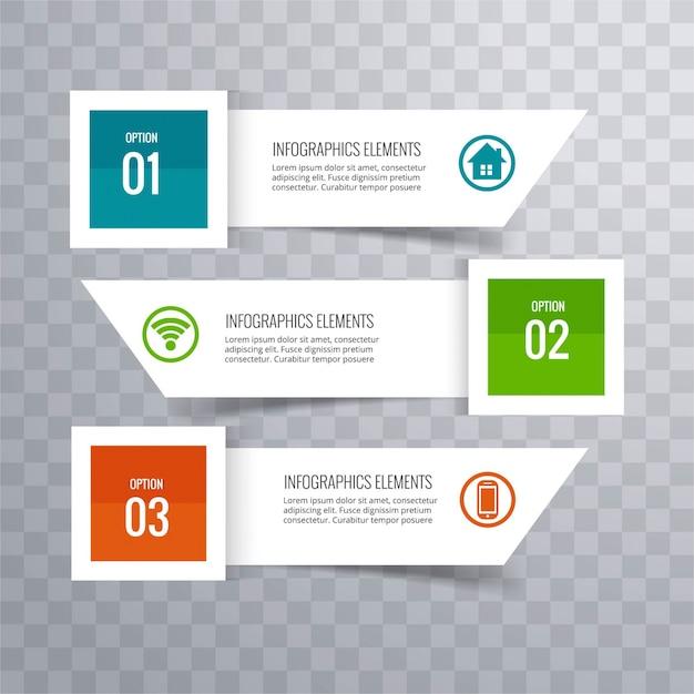 fond moderne infographique Vecteur gratuit