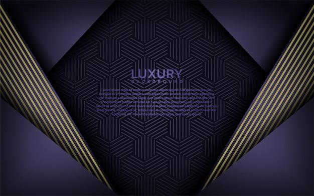 Fond moderne de luxe violet Vecteur Premium