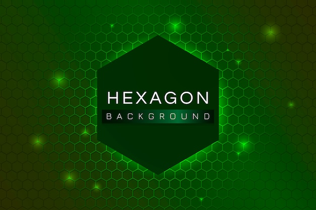 Fond à motifs hexagonaux Vecteur gratuit