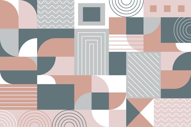 Fond Mural Géométrique Vecteur gratuit