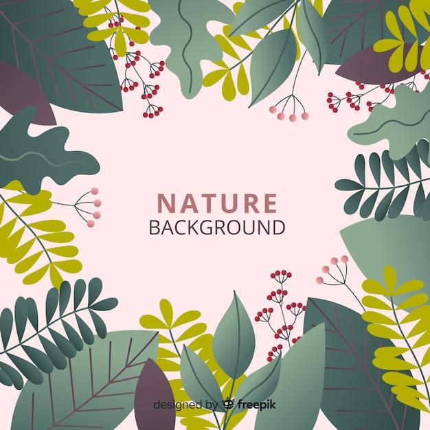 Fond de nature Vecteur gratuit
