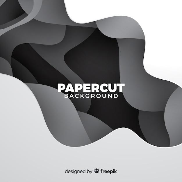 Fond de papier abstrait Vecteur gratuit