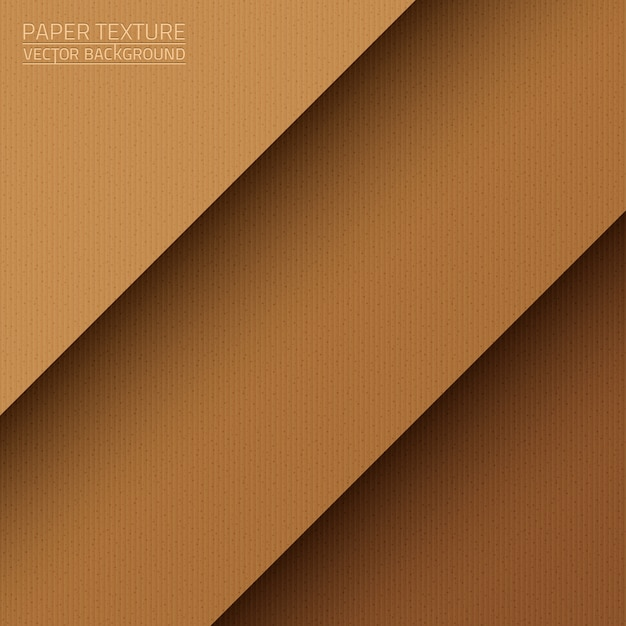 Fond de papier rétro texture vecteur carton Vecteur Premium