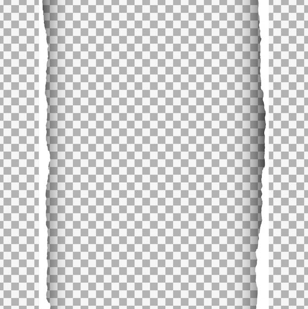 Fond de papier ripped Vecteur gratuit