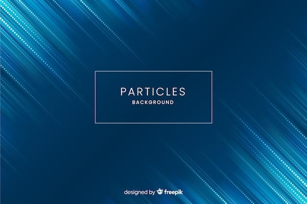 Fond de particules dégradées Vecteur gratuit