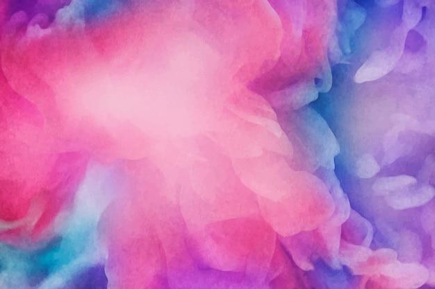Fond de peinture aquarelle vibrante Vecteur gratuit