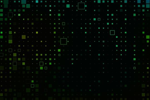 Fond pixel pluie résumé Vecteur gratuit