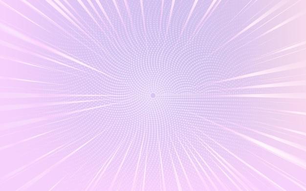 Fond Pointillé Demi-teinte Abstraite Violet Clair Et Blanc Vecteur gratuit