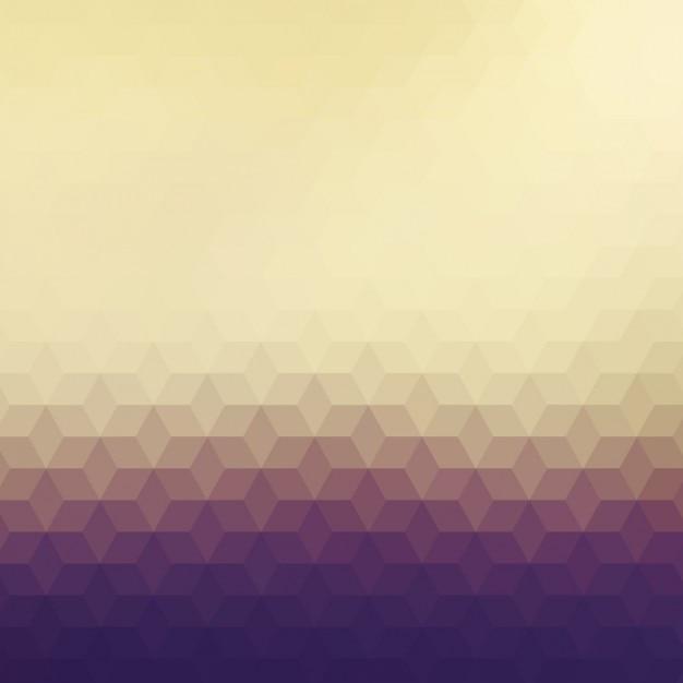 Fond polygonal dans différents tons bruns Vecteur gratuit