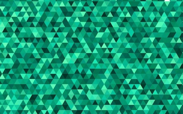 Fond polygonale abstrait vecteur vert clair Vecteur Premium