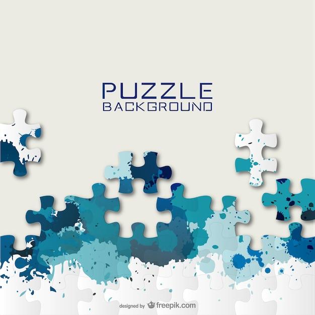 Fond de puzzle gratuit pour le téléchargement Vecteur gratuit